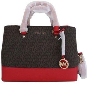 Michael Kors savannah large satchel.